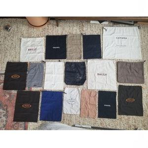 🌸 18 Luxury (Bundled or Individual) Dust Bags